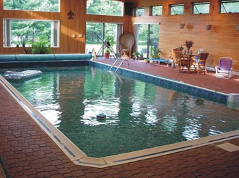Indoor ozonated pool