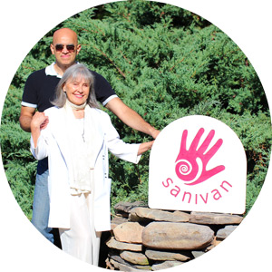 Saniye and Ivan of Sanivan Holistic Retreat & Spa Getaway near New York City